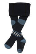 Weri Spezials Baby and Children ABS terry Tights, dark Blue