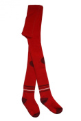 Weri Spezials Baby and Children ABS terry Tights, Red