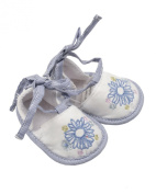 Max and Tilly Baby Girl Bluebird Embroidered Pretty Shoes