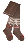 Weri Spezials Baby and Children Tights, Brown, Railroad