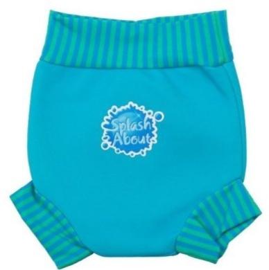 Splash About Happy Nappy Turquoise Blue Lagoon Medium 4-8 Months