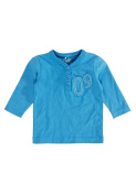 Name It Newborn Josh LS T-Shirt - Azure Blue