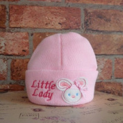 Little Lady With Rabbit Design Baby Novelty Knitted Hat From 6 Months