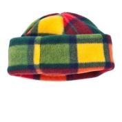 THA200 CozyBear Buchannan Tartan Fleece Hat - Baby