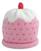 Merry Berries Pink Cupcake Baby Hat