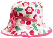 Toby Tiger Cherry Flower Reversible Sunhat Baby Girl's Hat