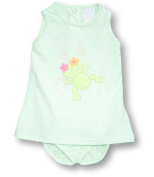Girandola Froggy and Flowers Romper Set, Rompers, Baby girl, 3M