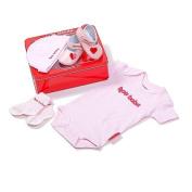 'Hot Babe' - Baby Girl Gift Set