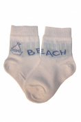 Weri Spezials Baby Socks, Ship, White, Quality merc.Cotton