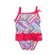 Zoggs Girl's Swim Nappy One Piece Swim Suit