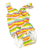 fashy Baby Girls'Swimwear Swimming Costume with Disposable Nappy