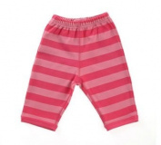Bob and Blossom Girls Bright Pink & Hot Pink Striped Baby Trousers