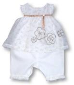 Pomme Framboise Paris Louvre One-Piece Trouser Suit, Trouser Sets, Baby girl, 9-12 months