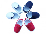 MABINI® Baby Boys Canvas Style Slip On Shoes / Booties
