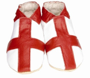 Daisy Roots English Flag Baby Shoes Soft Leather