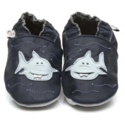 Soft Leather Baby Shoes Shark 24-36 months