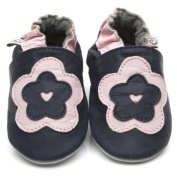 Soft Leather Baby Shoes Big Flower 24-36 months