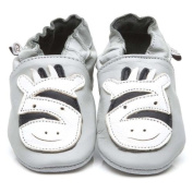 Soft Leather Baby Shoes Zebra 3-4 years