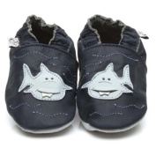 Soft Leather Baby Shoes Shark 3-4 years
