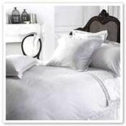 Yvette White Lace Oxford Pillowcase 50Cm X 75Cm