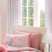 Catherine Lansfield Scottie Dog Curtains, Pink