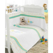 Best Friends Baby Bedding 3 Piece Cot Set Unisex