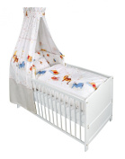 Baby Bedding Set Rise and Shine BIG - for Cot Bed -Winnie Pooh collection
