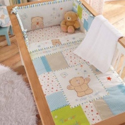 Izziwotnot Forever Friends Little Star 5 Piece Coverlet Bedding Bale, Cot/Cot Bed