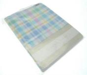 Baby Fleece Blanket Cheque Design
