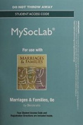 NEW MyLab Sociology  without Pearson eText -- Standalone Access Card -- for Marriages and Families
