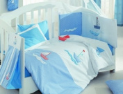 Blue Marine Collection Children Applique Fleece/ Blanket