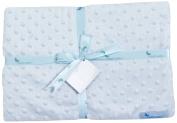 Interbaby 881 Blanket Microfibre Light Blue