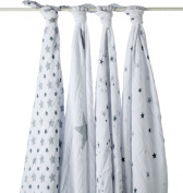 aden + anais Twinkle 2038G Swaddling Clothes Pack of 4