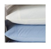 Cot Bed Pillow Case 100% Cotton- Light Blue