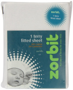 Zorbit Terry Cotton Rich Fitted Sheet Cot