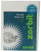 Zorbit 200TC Percale Sheet Set Cot