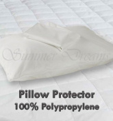 Water Proof 100% Polypropylene PILLOW PROTECTORS - Pair