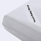 Fibre Cot Bed / Toddler Bed Mattress - 139/140 cm x 69/70 cm x 10 cm. Foam, Cheaper than Sprung
