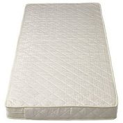 SOPHIE FULLY BOUND With **TAPED EDGED** Superior Sprung Cot Mattress Best For Fitted Sheets 120x60 x 10cm Thick - Will Fit M & P Cots 200 Size As Well As Other Makes : British Made With High Grade Density Foam CMHR28