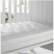 KATY® Luxury Microfibre Spring Hypo Allergenic Cot Mattress **FULLY BOUND With **TAPED EDGED** 120x60 X 10cm Thick - Superior Sprung Interior - Fits M & P 200 Size As Well As Other Makes