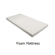 Foam Cot Bed / Toddler Bed Mattress 140cm x 70cm x 7.5cm