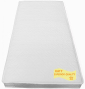 KATY® 131 X 68 cm Superior FULLY BOUND With **TAPED EDGED** Spring Interior Mattress - 131 x 68 cm Will fit Boori King Parrot