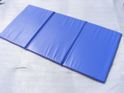 Set of 5 Toddlers Triple Folding Wipe Clean Sleep Mats / nap mats / snooze mats Ideal for Childminders & Nurseries