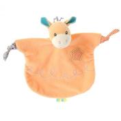 Aurora Cottage 9 inch Craft Critters Giraffe Comforter/Hand Puppet