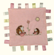 SLUMBERTAG Baby Comforter Security Blanket Hedgehog - Velour