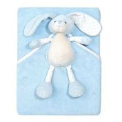 Walton Baby - Once Upon a Time - Large Softee Rabbit Security Blanket Blue