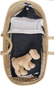 Tuppence and Crumble Soft Fleece Charcoal Nap-Sack 0-6 months