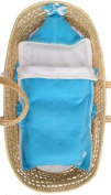 Tuppence and Crumble Soft Fleece Turquoise Nap-Sack 0-6 months