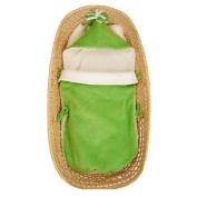 Tuppence and Crumble Soft Fleece Pea Nap-Sack 0-6 months