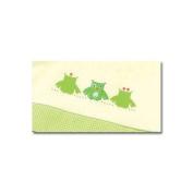 Gesslein Babyschlafsack Bubou grün natur, 56 cm - newborn
